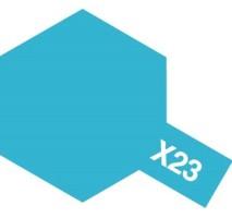 TAMIYA 81023 - X-23 Clear Blue - Acrylic Paint (Clear) 23 ml