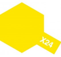 TAMIYA 81024 - X-24 Clear Yellow - Acrylic Paint (Gloss) 23 ml