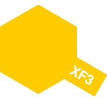 TAMIYA 81303 - XF-3 Flat Yellow - Acrylic Paint (Flat) 23 ml