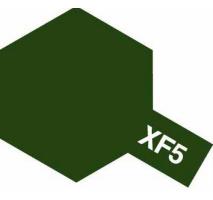 TAMIYA 81305 - XF-5 Flat Green - Acrylic Paint (Flatt) 23 ml
