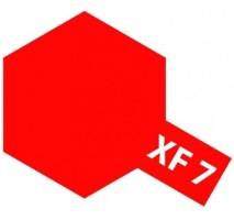 TAMIYA 81307 - XF-7 Flat Red - Acrylic Paint (Flatt) 23 ml