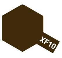 TAMIYA 81310 - XF-10 Flat Brown - Acrylic Paint (Flatt) 23 ml