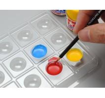 TAMIYA 87195 - 18 Well Palette for Brush Painting (5pcs set)