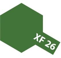 TAMIYA 81326 - XF-26 Deep Green - Acrylic Paint (Flatt) 23 ml