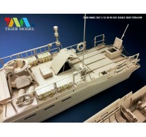 Tiger Model 6293 - 1:35 Sweden CB-90 FSDT Assault Craft
