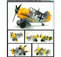 Tiger Model 003 - German Bf-109 Fighter (cute plane)