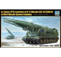 Trumpeter 01024 - 1:35 Ex-Soviet 2P19 Launcher w:R-17 Missile (SS-1C SCUD B) of 8K14 Missile System Complex
