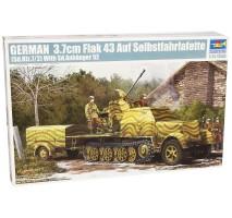 Trumpeter 01527 - 1:35 German 3,7Cm Flak 43 Auf Selbstfahrlafette Sd.Kfz. 7/2� �
