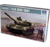 Trumpeter 01579 - 1:35 Soviet T-64A Mod 1981