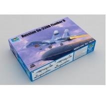 Trumpeter 01669 - Russian Su-33UB Flanker D 1:72