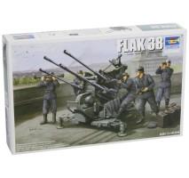 Trumpeter 02309 - 1:35 German Flak 38 (German 2.0Cm Anti-Aircraft Gun)