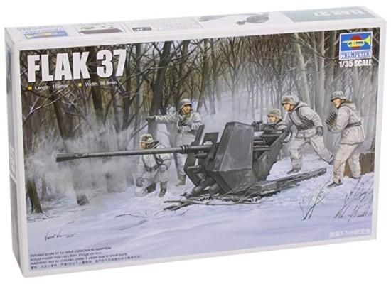 Trumpeter 02310 - 1:35 German Flak 37 (German 3.7Cm Anti-Aircraft Gun)