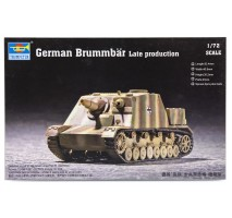 Trumpeter 07212 - 1:72 German Brummbär Late Production