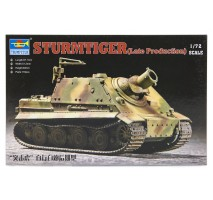 Trumpeter 07247 - 1:72 German  ''Sturmtiger'' Assault Mortar (Late Type)