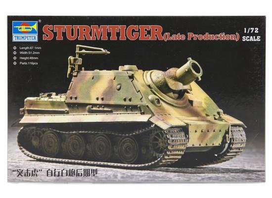 Trumpeter 07247 - 1:72 German  ''Sturmtiger'' Assault Mortar (Late Type)