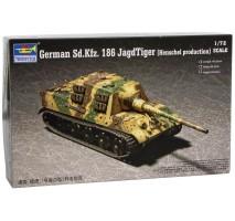 Trumpeter 07254 - 1:72  German Sd.Kfz.186 Jagdtiger (Henschel)
