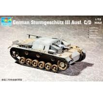 Trumpeter 07257 - 1:72  German Sturmgeschütz III Ausf. C/D