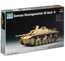 Trumpeter 07260 - 1:72  German Sturmgeschütz III Ausf. G