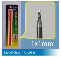 Master Tools 09923 Chisel F1 1x1mm