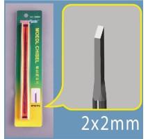 Master Tools 09924 Chisel F2 2x2mm