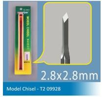 Master Tools 09928 Chisel T2 2,8 x 2,8mm, Diamond Tip