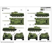 Trumpeter - Macheta blindat Sovietic SU-100 1:16