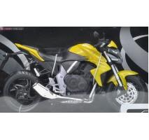 AOSHIMA AOS08847 - 1:12 DIECAST MOTORCYCLE: HONDA CBR 1000RR (YELLOW)
