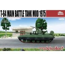 Modelcollect - 1:72 T-64B Main Battle Tank Mod 1975