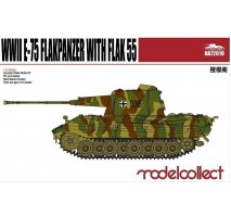 Modelcollect - 1:72 Germany WWII E-75 Flakpanzer with FLAK 55