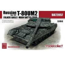 Modelcollect - 1:72 Russian T-80UM2 (Black eagle) Main Battle Tank