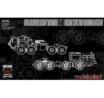 Modelcollect - 1:72 USA M983A2 HEMTT Tractor and Soviet MAZ 7410 tractor COMBO