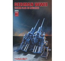 Modelcollect - 1:72 German WWII 128mm FLAK 40 Zwilling