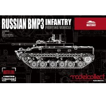 Modelcollect - 1:72 Russian BMP3 infantry fighting vehicle