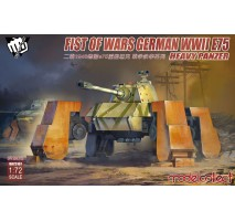 Modelcollect - 1:72 Fist of War German WWII E75 heavy panzer