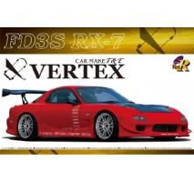AOSHIMA 00163 - 1:24 VERTEX Mazda FD3S RX-7