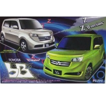 "FUJIMI 036762 - 1:24 ID-31 Toyota bB ""Q version and X version"" both type"