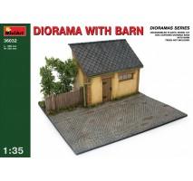 Miniart 36032 - 1:35 Diorama w/ Barn
