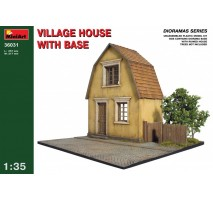 Miniart 36031 - 1:35 Village House with Base