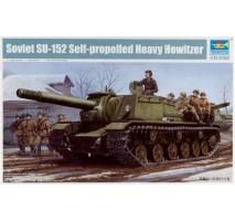 Trumpeter 01571 - 1:35 Soviet SU-152 Self-propelled Heavy Howitzer
