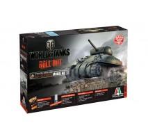 Italeri 36503 - 1:35 M4 SHERMAN - World of Tanks