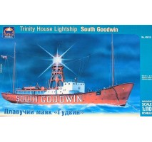 "ARK Models AK40010 - 1:110 Trinity House ""South Goodwin"" British lightship (1:110)"