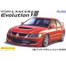 FUJIMI 039244 - 1:24 Mitsubishi Lancer Evolution VIII GSR w/Window Frame Masking