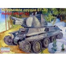 Eastern Express EE35116 - 1:35 BT-42 Finnish Assault Gun on BT-7 Tank's Chassis