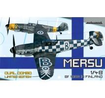 Eduard 11114 - 1:48 Mersu / Finland Dual Combo Bf 109G-2 and Bf 109G-7