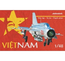 Eduard 11115 - 1:48 Vietnam - Soviet fighter aircraft MiG-21PFM - Limited Edition