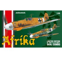 Eduard 11116 - 1:48 Afrika DUAL COMBO - Two full kits of Bf 109F and Bf 109G-2