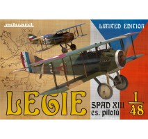 Eduard 11123 - 1:48 Legie - SPAD XIIIs flown by Czechoslovak pilots