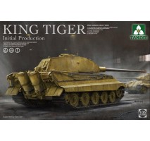TAKOM 2096 - 1:35 WWII German heavy tank King Tiger initial production 4 in 1