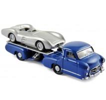 NOREV - Mercedes Benz Renntransporter and Mercedes Benz W196 1954