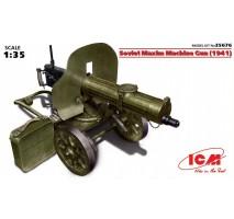 ICM 35676 - 1:35 Soviet Maxim Machine Gun (1941)